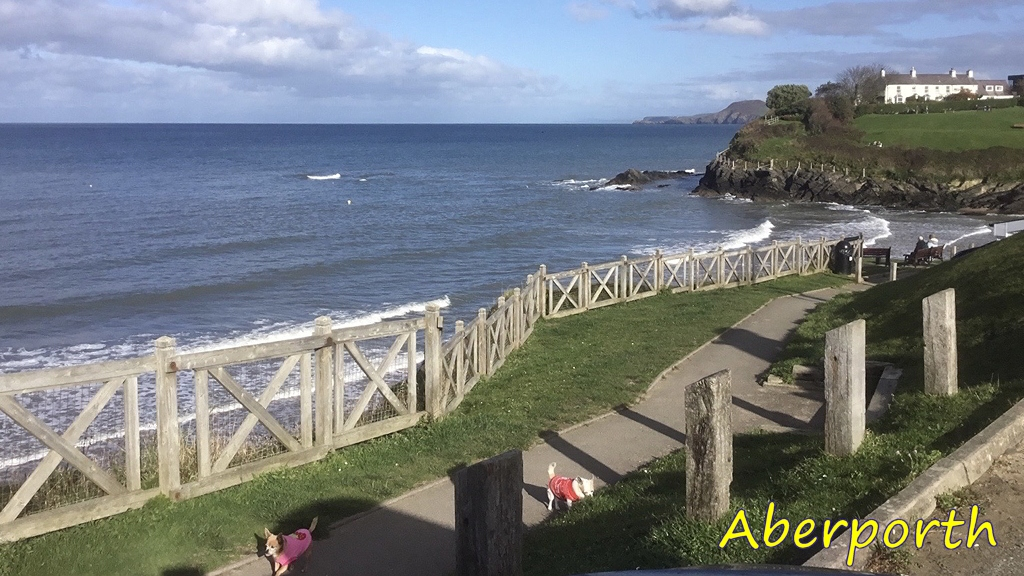 View of Aberporth