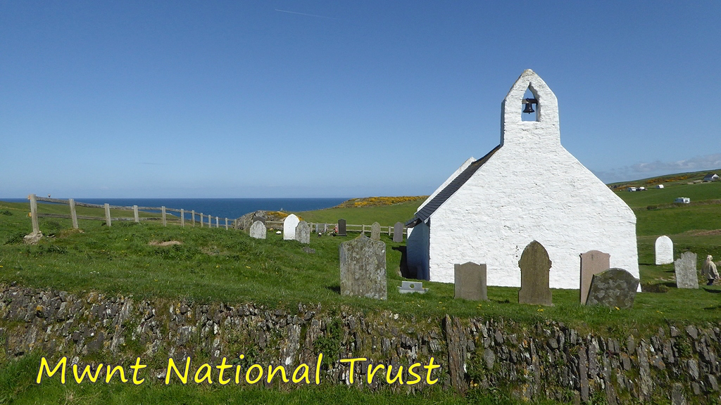 Church at Mwnt National Trust