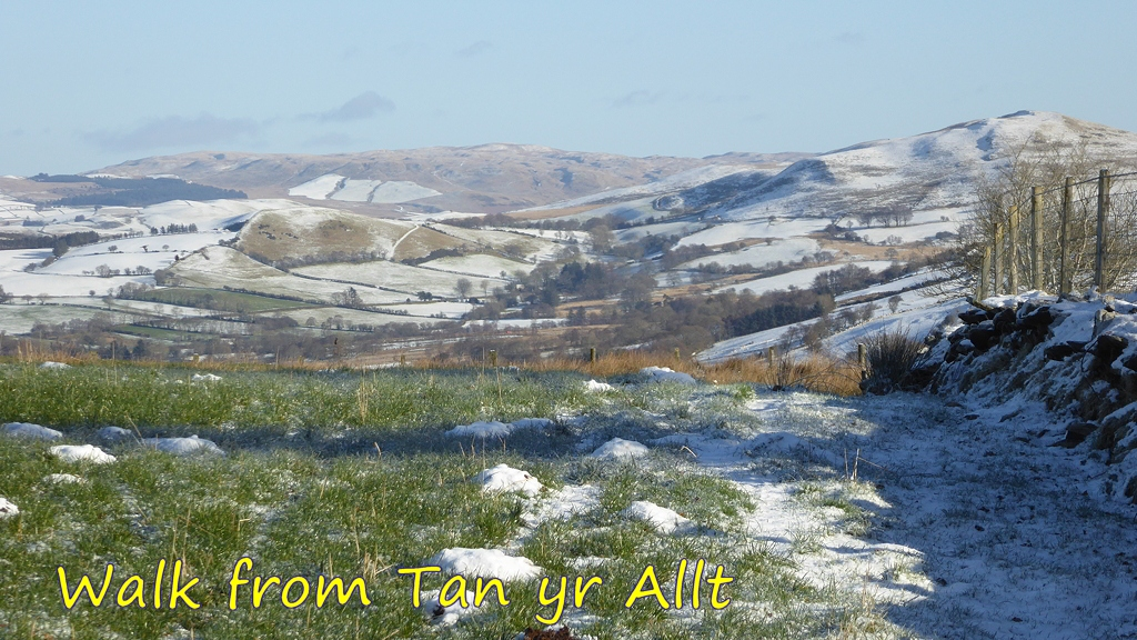Walk from Tan yr Allt