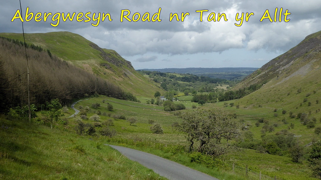 Abergwesyn Road near Tan yr Allt